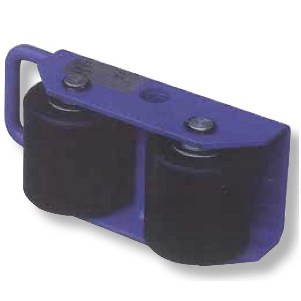 Pattino Industriale Con 2 Rulli Fissi Portata Kg2500 Carrellino Ergono