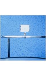 Portaprezzo Aggancio Per Barra Ovale Mm36x18 Accessori Stender