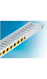 Coppia Rampe Di Carico In Alluminio Con Bordo H130 Mm3970 Larghe