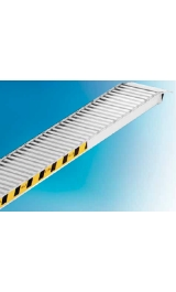 Rampe Di Carico In Alluminio Senza Bordo H125 Mm4000 Kg2050