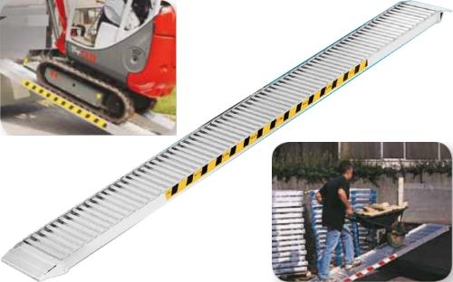 Rampe di carico in alluminio senza bordo kg for Rampe di carico in alluminio prezzi