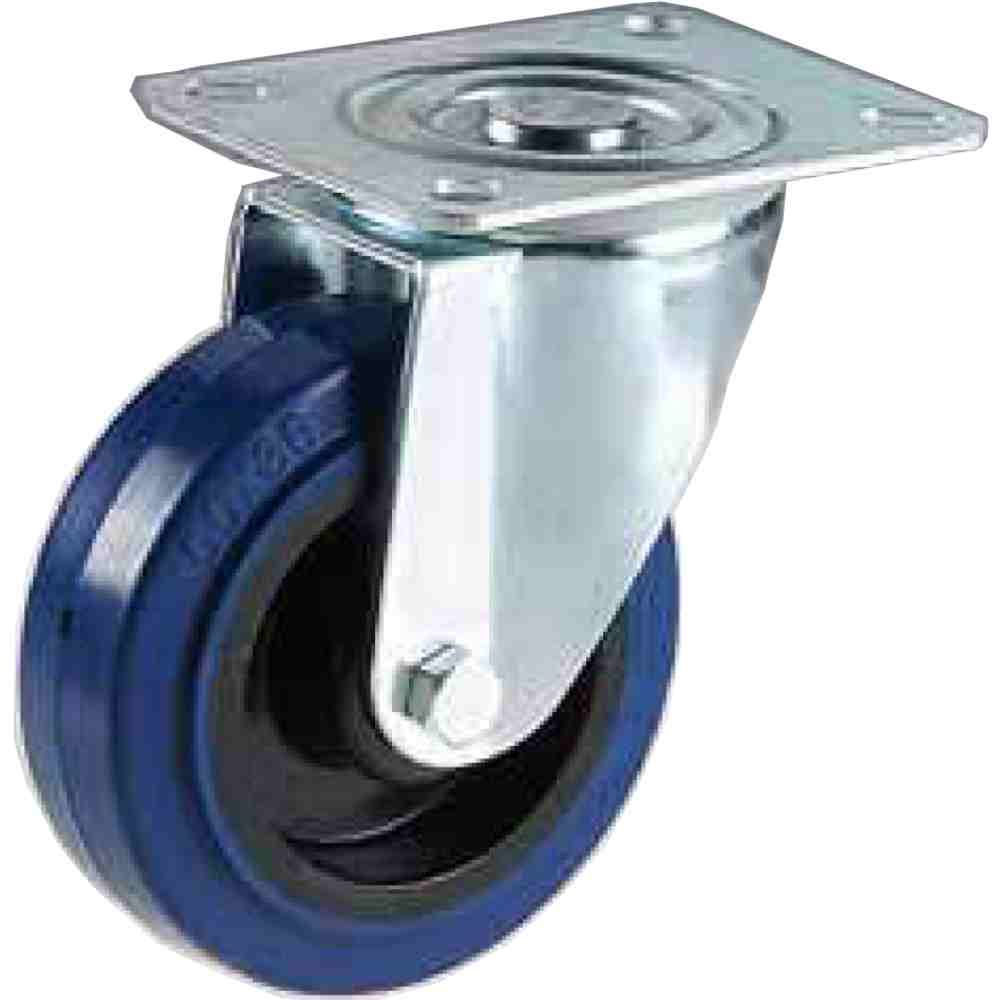 Ruota Gomma Super Elastica Antitraccia 200 Piroettante Pkg350