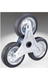 Offerte pazze Comparatore prezzi  Tre Ruote Mm150x40 Portata Kg142 Supporto A Stella Disco In Ferro In U  il miglior prezzo