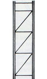 Fiancata Montata 600xh4000mm Per Scaffalatura Incatro Sif640f