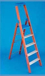 Scala Apribile In Vetroresina Professionale Per Elettricisti A 9 Gradi