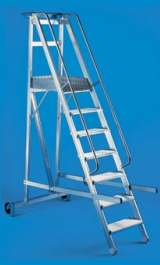 Scala Castello Alluminio Pieghevole Kompasso 12 Gradini H300m