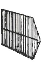 Separatore Per Cesti Espositori Sovrapponibili Cm60xh45 10356