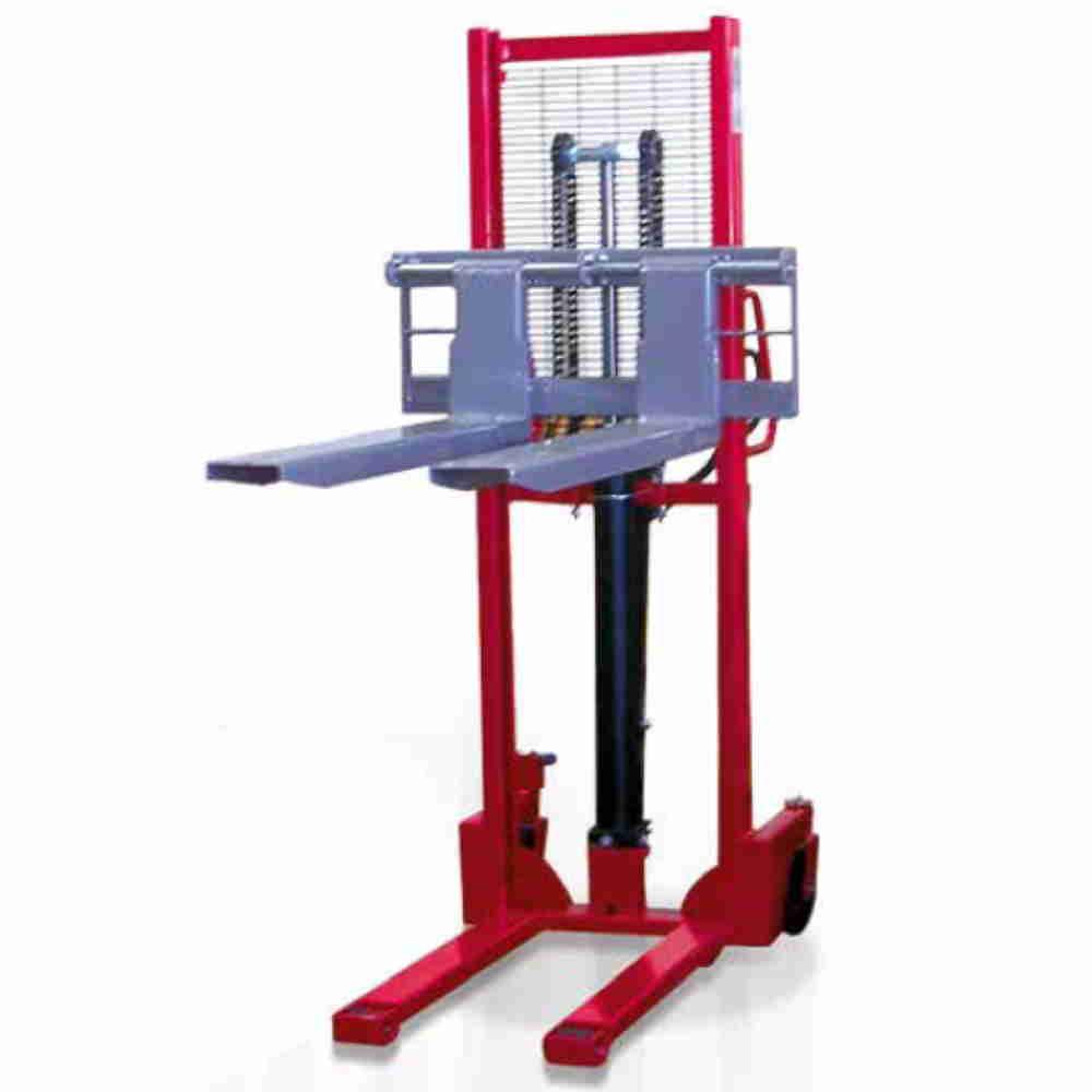 Carrello Sollevatore Con Forche Regolabili Elevatore A Trazione E Soll