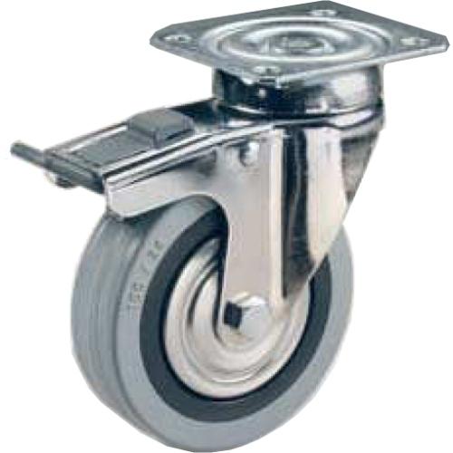 Ruote Per Carrelli E Mobilia In Gomma Grigia Antitraccia Diametro Mm10