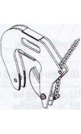 Pinza Sollevamento Rb Con Presa Dentata Kg500 Presa40 110mm