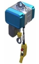 Paranco Elettrico A Catena Compatto Traliftts Kg4000 2 Velocita