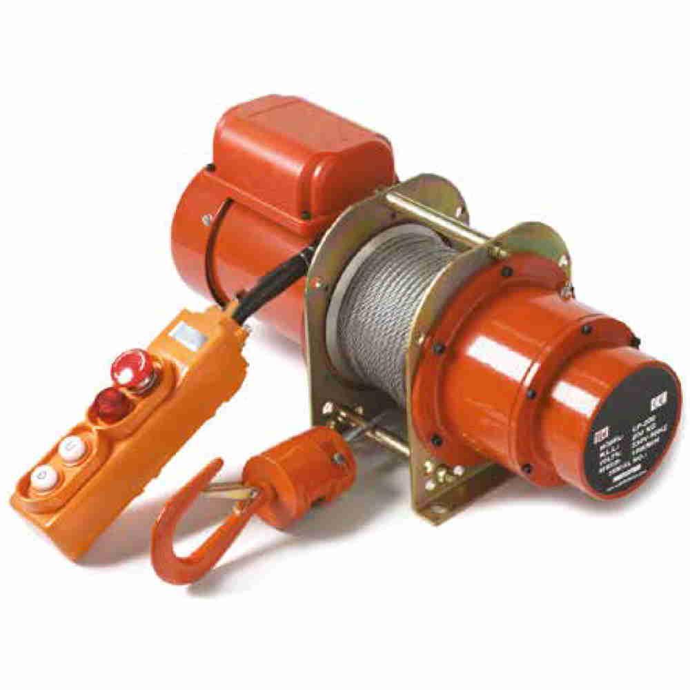 Verricello Elettrico Professionale A 220v Con Fune A Corda In Acciaio