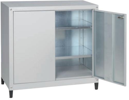 Armadio basso portautensili smontabile zincato for Armadio basso ufficio