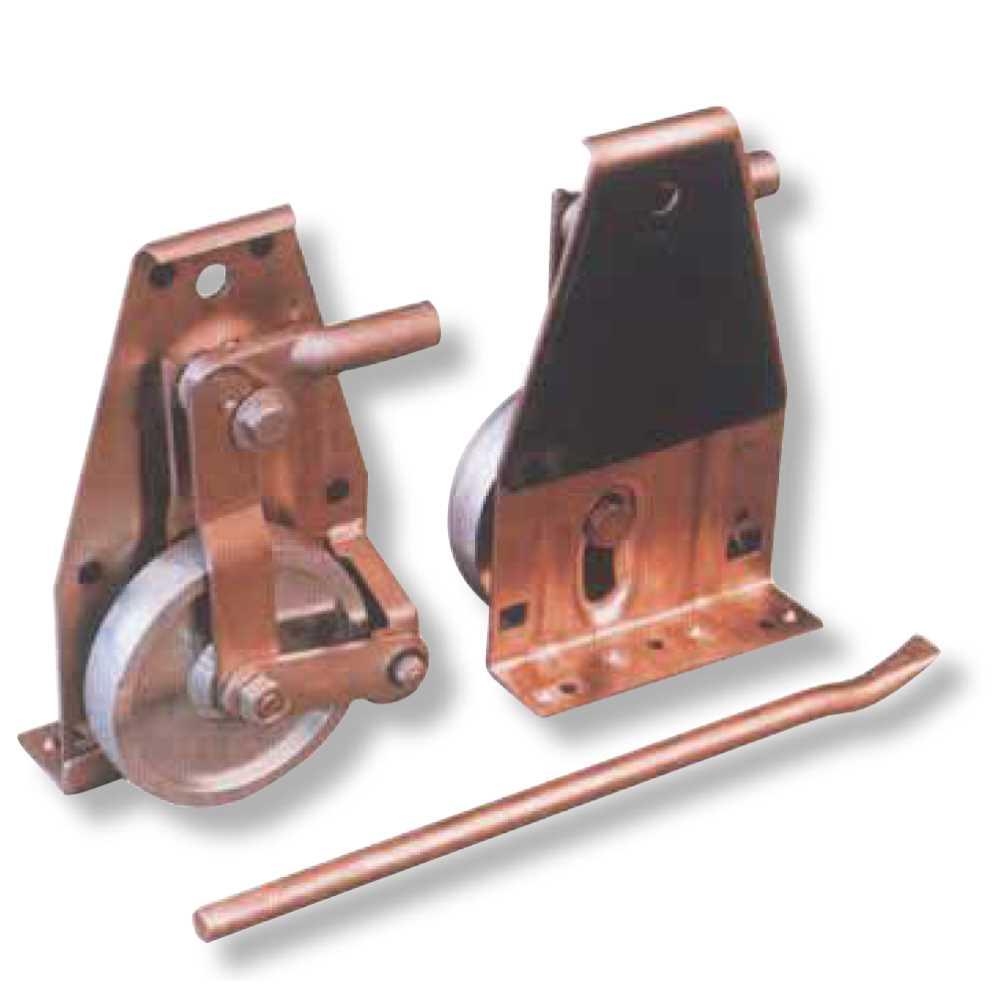 Sollevatore Con Ruota In Metallo Kg1000 Pattino Con Rullo Per Sollevar