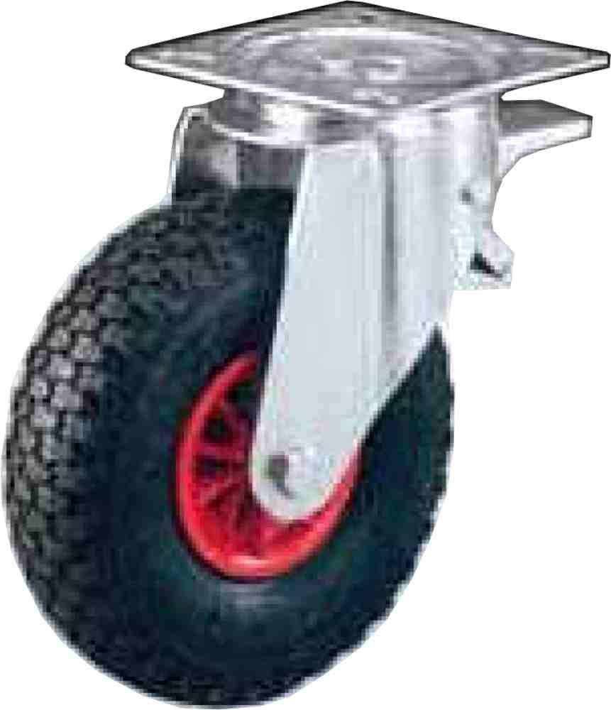 Offerte pazze Comparatore prezzi  Ruota Semipiena Disco Plastica Staffa Rotante Freno 260x85 Kg103  il miglior prezzo