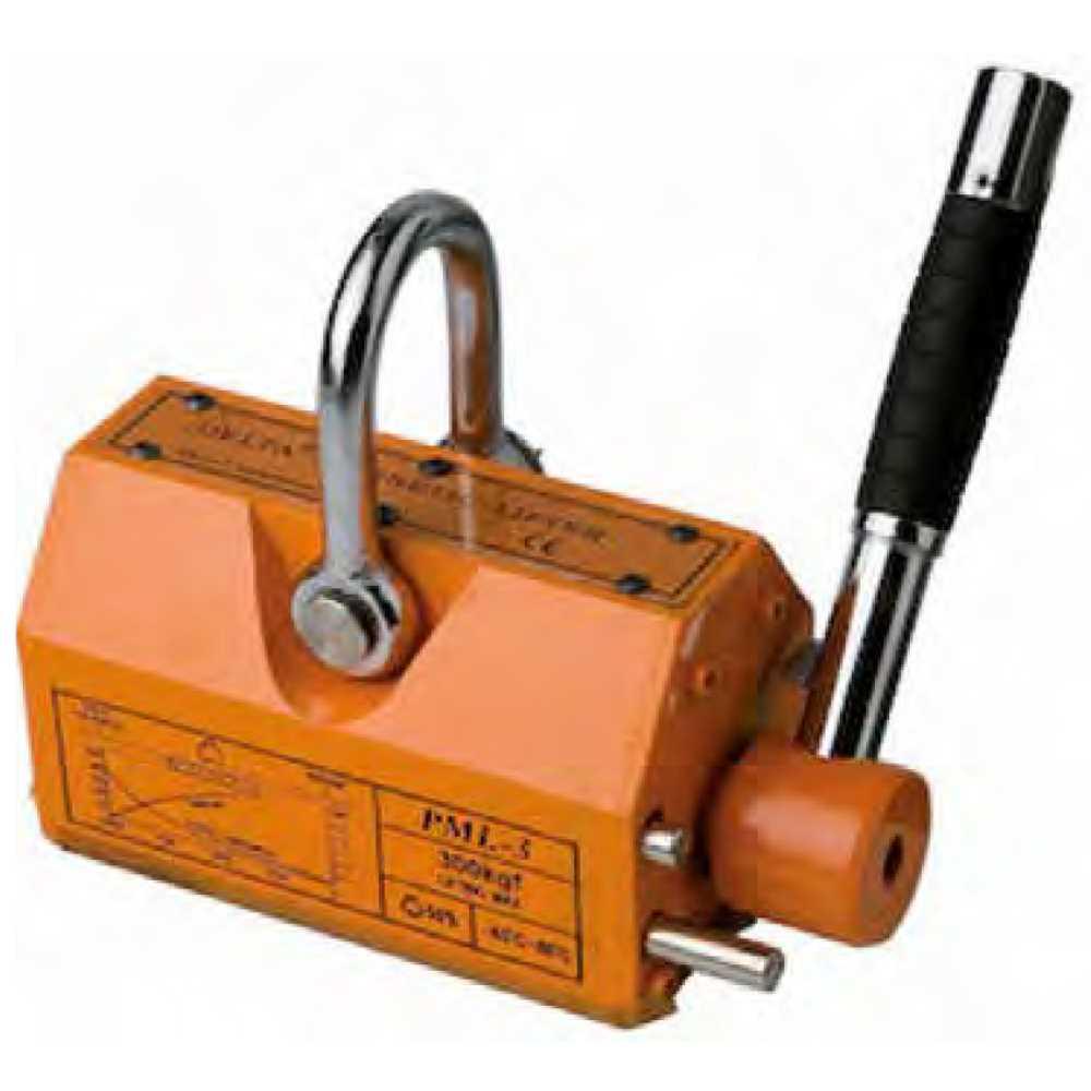 Sollevatore Magnetico A Leva Portata Kg 300 Per Movimentare In Sicurez